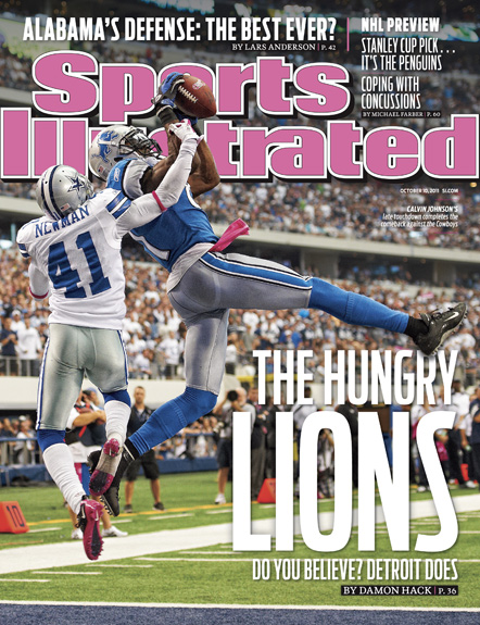 October 9, 2011 SI Cover