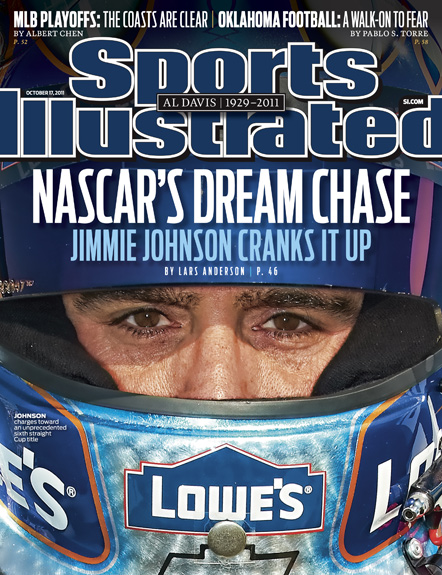 October 17, 2011 SI Cover