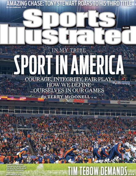 November 28, 2011 SI Cover