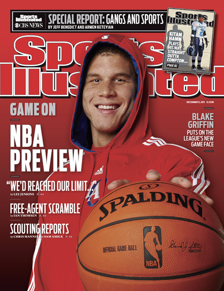 December 5, 2011 SI Cover