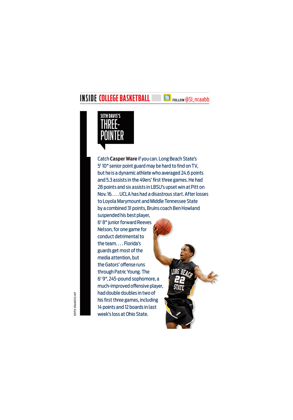 College Basketball Column Galaxy Version P.4