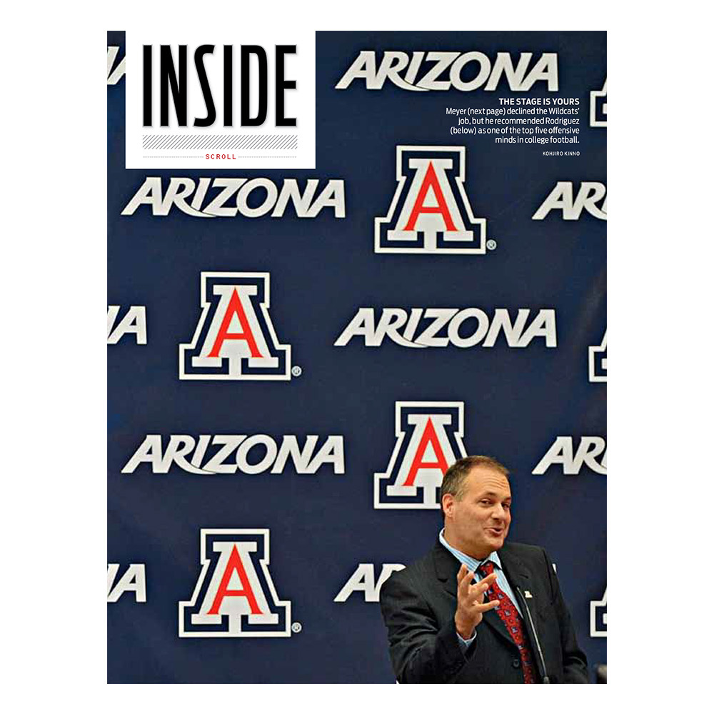 College Football Column iPad Vertical Version