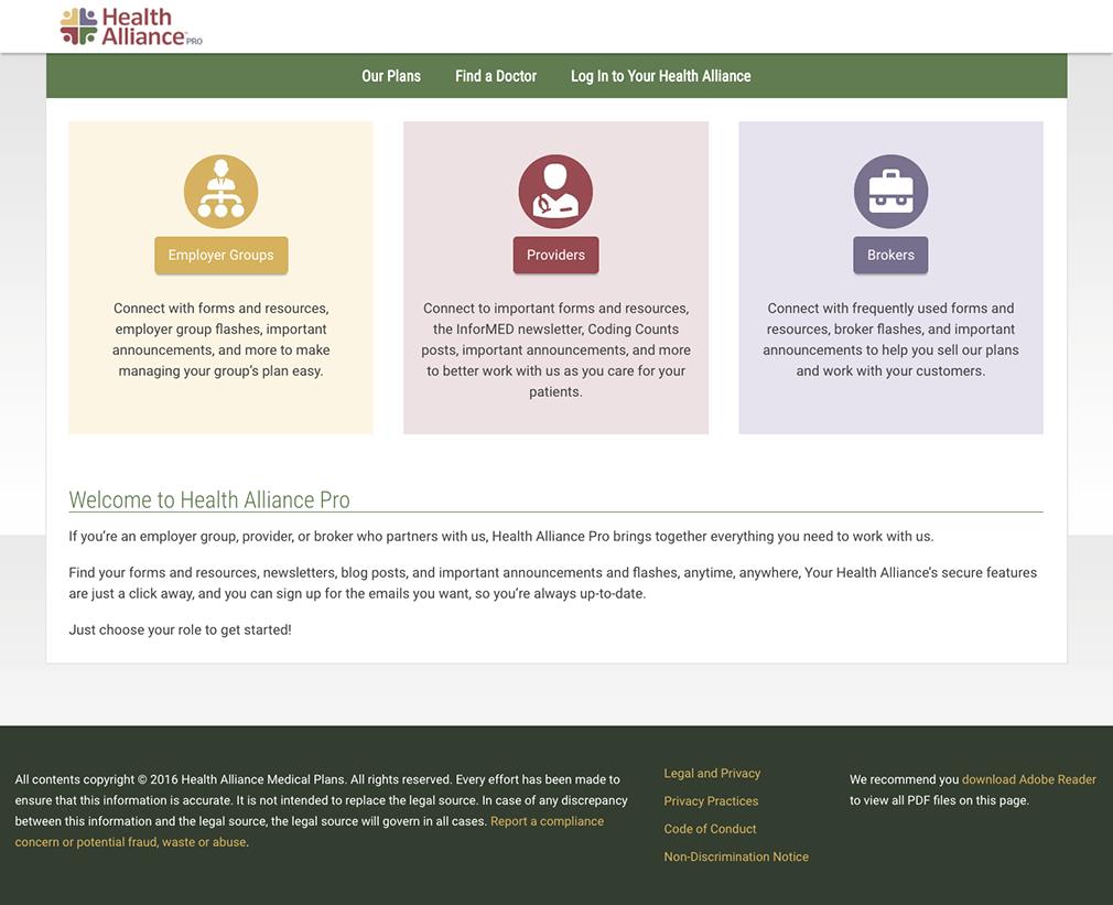 Health Alliance Pro Allison Shields Portfolio