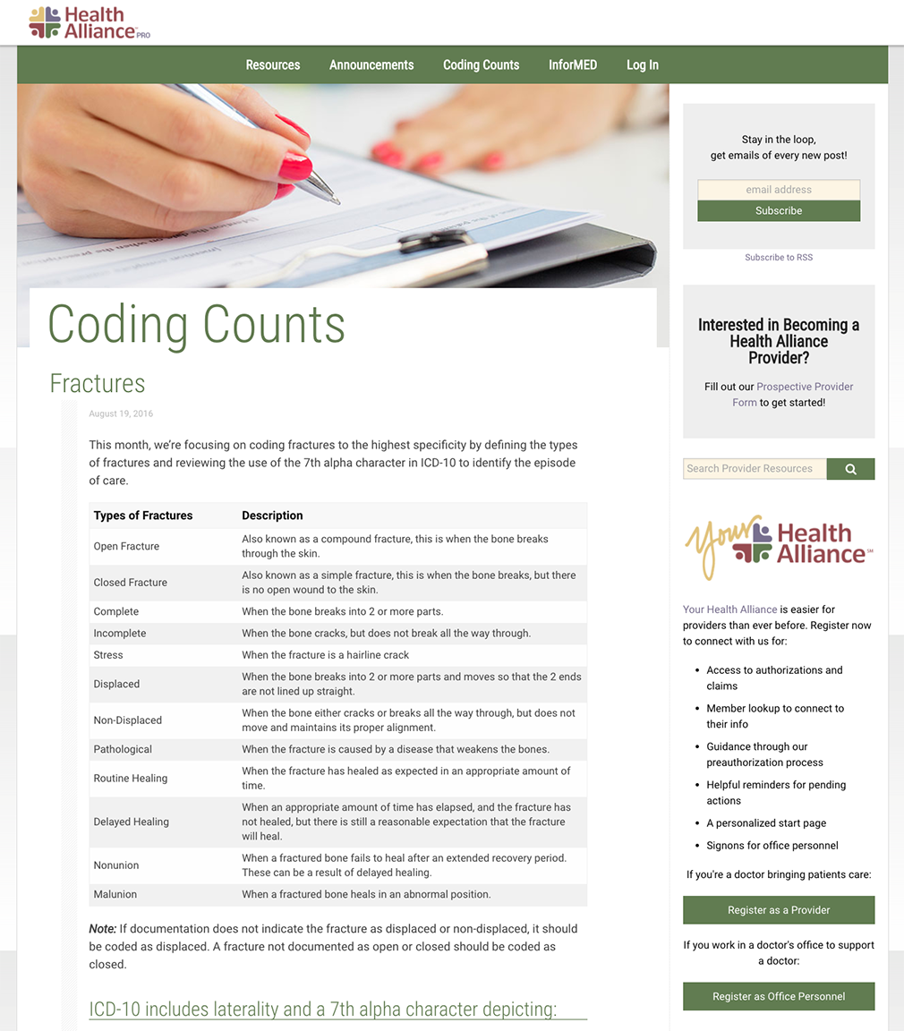 Coding Counts Feed